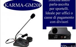 Interfono parla ascolta BTGM20P per sportelli